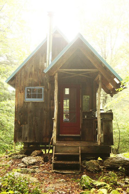 Get away!..A Northern Cabin