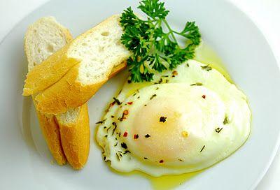 Olive Oil-Poached Egg.