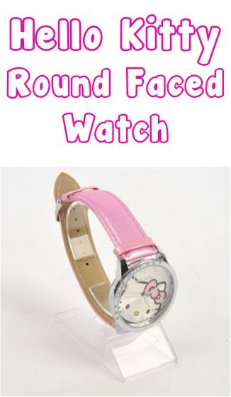 Super Cute Hello Kitty Girls Watch ~ $4.59 Shipped! {check a gift or stocking stuffer off the list!} #hellokitty