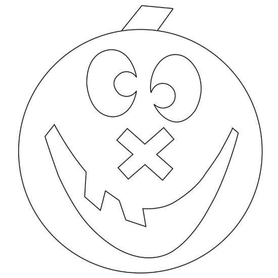 Your little ones will love coloring these fun pumpkins. Download free pumpkin coloring pages for kids: www.bhg.com/...