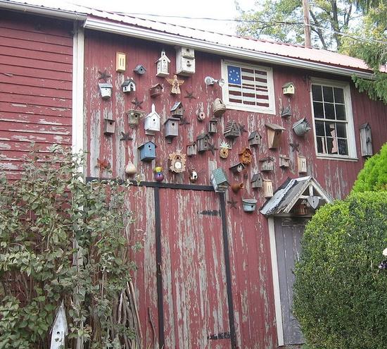 birdhouse barn...