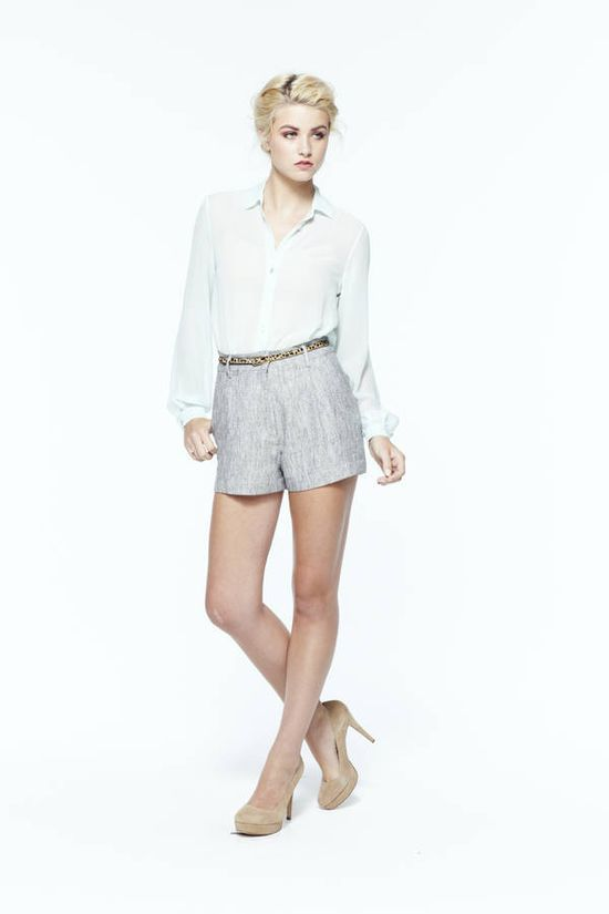 paper crown: mystic blouse + jib shorts