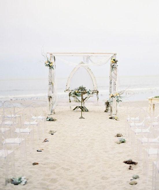Aisle Style - Beach Aisle Decor Inspiration