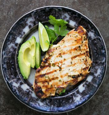 Grilled Chicken Cilantro Lime