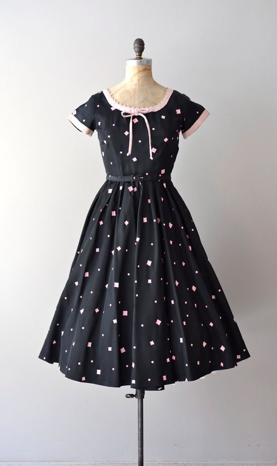 1950s Doo-Wop party dress    #vintage #1950s #vintagedress