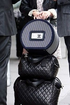Traveling  by Chanel.