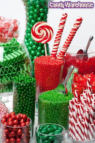 Christmas Candy Buffet