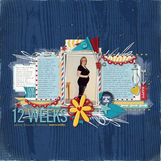 12 Weeks - Scrapbook.com
