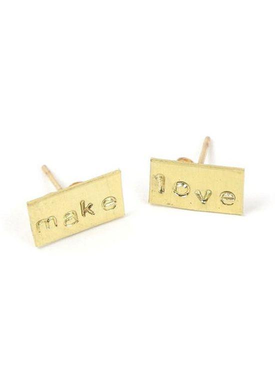 Make Love Earrings