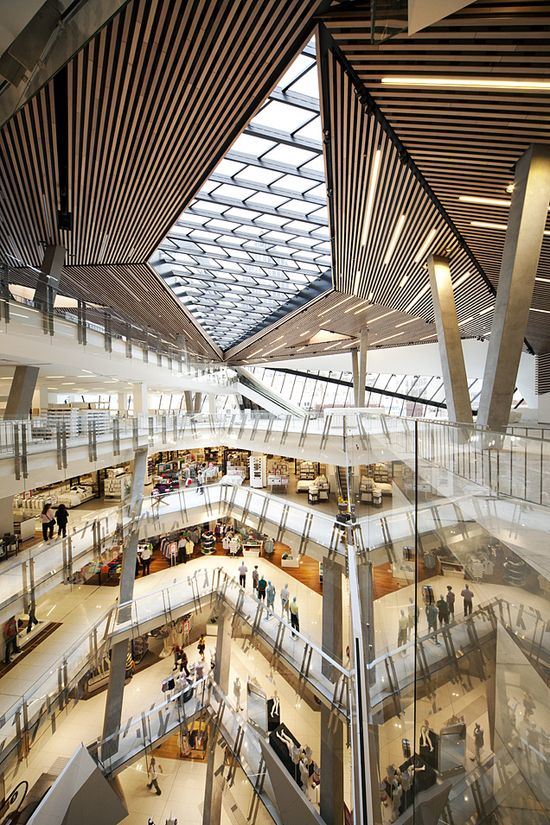 Myer Bourke Street Redevelopment by NH Architecture