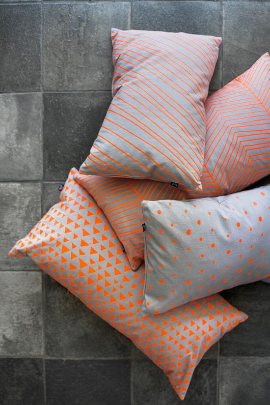 Dotted Cushion - Neon / Ferm Living