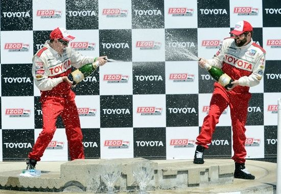 Rutledge Wood took first place in the Toyota Pro/Celebrity Race this weekend, taking the top spot in a 2013 Scion FR-S. Come see this incredible sports car in person today at Toyota of Orlando - we've got the whole Scion family!