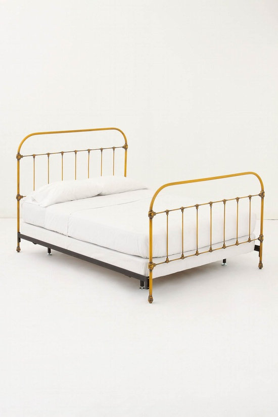 Love yellow bed