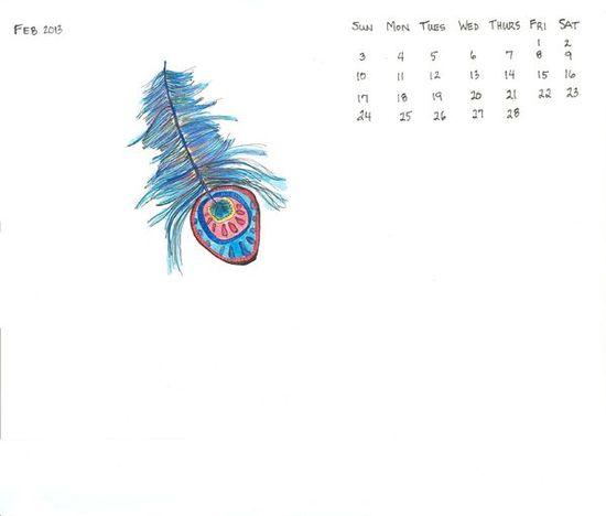 February desktop wallpaper