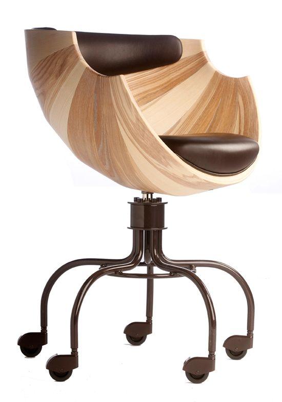 Zun Office Chair by Lund & Paarmann- Dear Santa, I want it, in the office