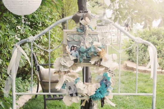 We go way beyond banners to show how throw-away furniture pieces can set the stage for your next party.