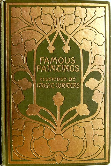 Gilt book cover designed by Alice Cordelia Morse,1902