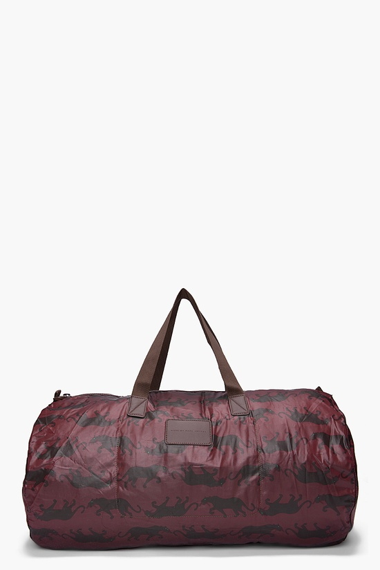 Marc By Marc Jacobs / Panther Print Duffle Bag