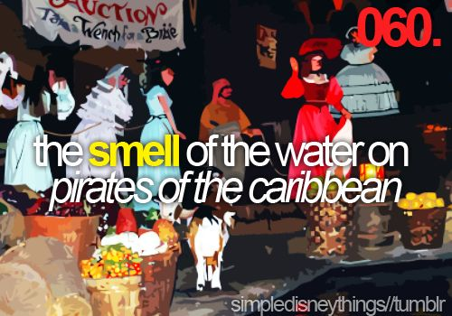 It doesn't smell like normal water!