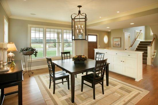 Simple geometric shape interior house design
