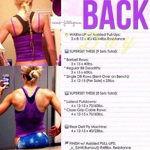 Back Workout!