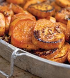 Kick up sweet potatoes with this alternative - Caramelized Cane Syrup Sweet Potatoes #EmerilsHoliday