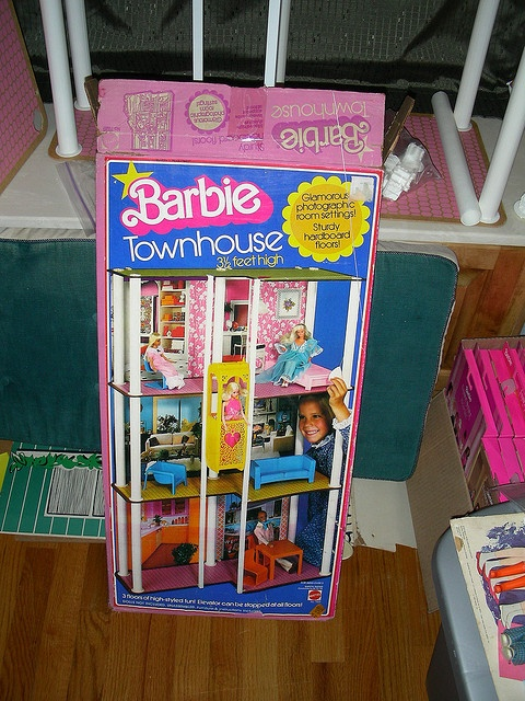 barbie was living it big time