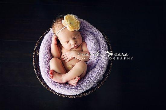 baby photo basket