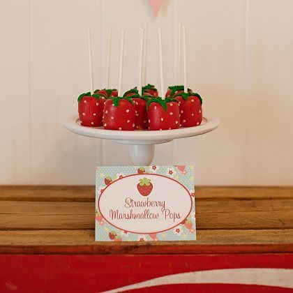 Berry Sweet Strawberry Birthday Party