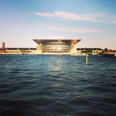 beautiful modern architecture in Copenhagen