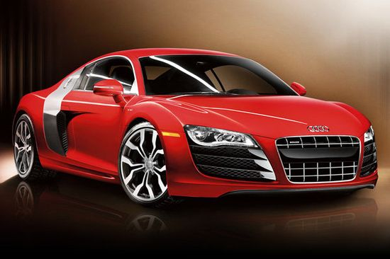Audi R8 V10 - wroooom. 60 mph in 3.5 seconds