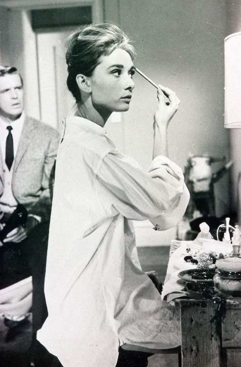 Audrey Hepburn knew the importance of a good brow.