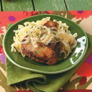 Marsala Pork Chops Recipe