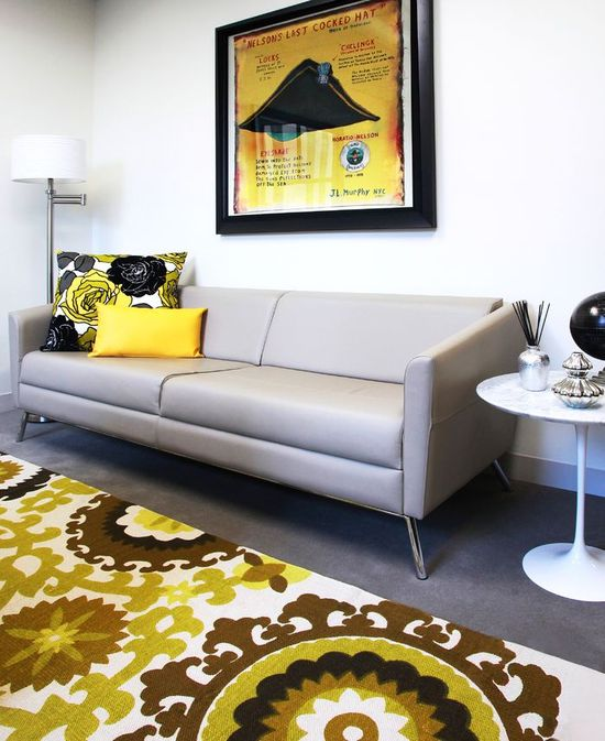 Executive Office - Contemporary - Commercial - Photos by Pizzigati Designs- eco chic interiors