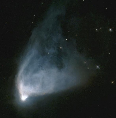 Hubble's Variable Nebula by Hubble Heritage, via Flickr