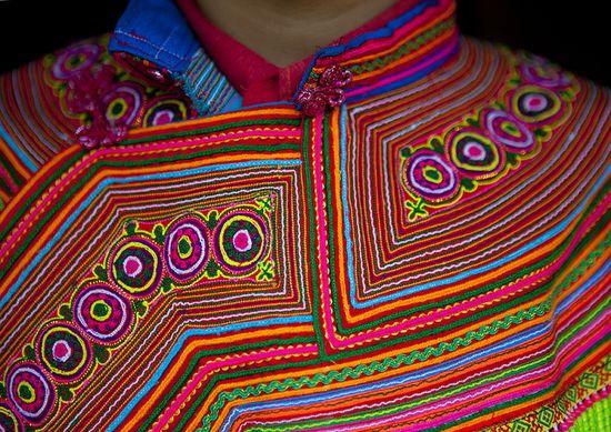 Flower Hmong clothes - Vietnam