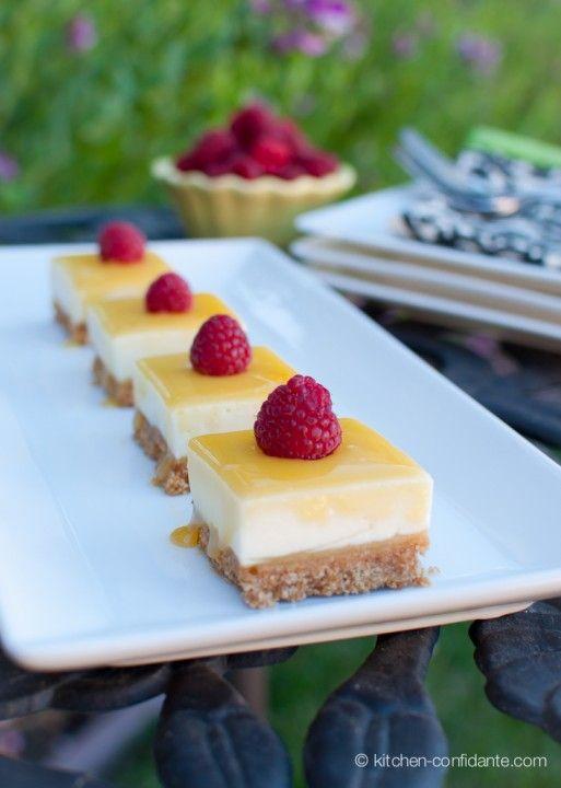 nb: lemon curd cheesecake bars...
