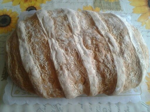 Handmade bread. Candeal