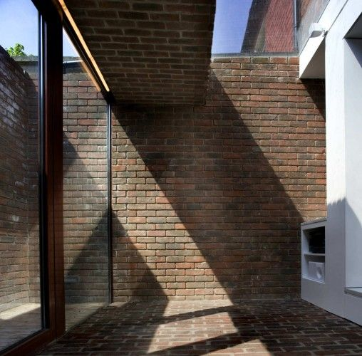 Brick A Back House / Architecture Republic... love the renovation!