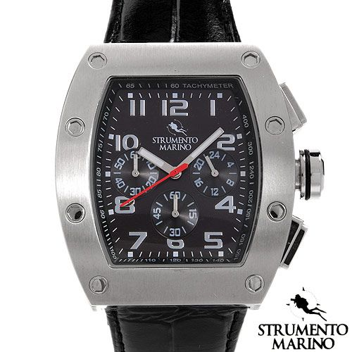 STRUMENTO MARINO SM056LSS/BK Chronograph Men's Watch