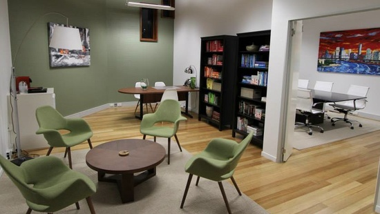 Home stager as office designer