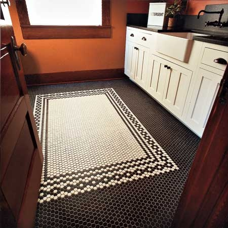cool tile floor