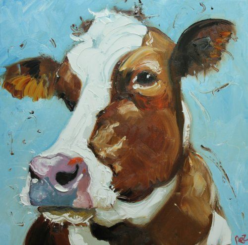 Cows are lovers!