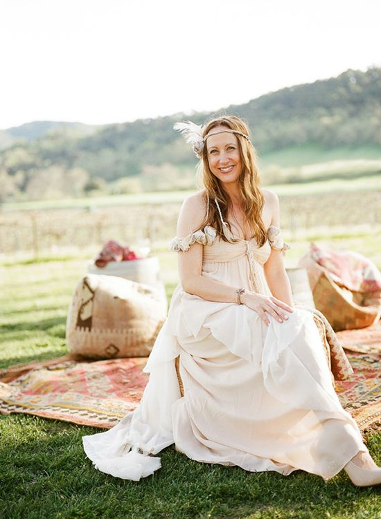 Anthropologie wedding dress altered by bride