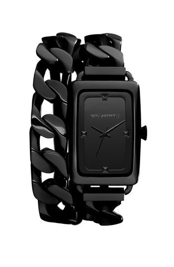 Double Wrap Bracelet Watch by Karl Lagerfeld - now at Nordstrom.- HOT!