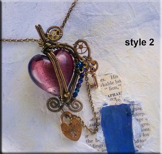 TUTORIAL Jewelry Pendant No 67 Wire Wrapped by JewelryonPicadilly, $4.00