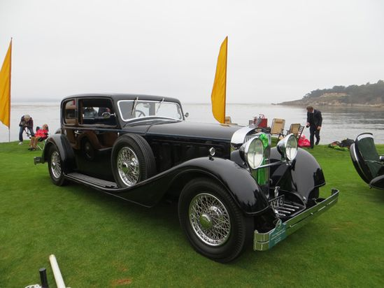 PopMech's favorite #vintage custom cars at the 2013 Concours d'Elegance in Pebble Beach