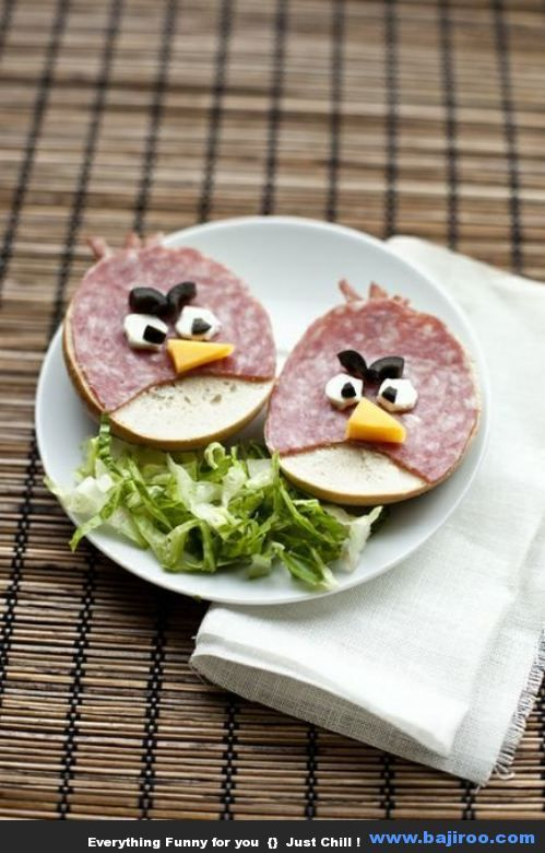 Funny Food Art: Play With Your Food (40 Photos)