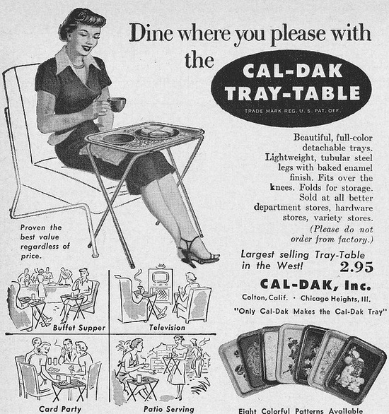 Dine where you please! #vintage #ads #1950s