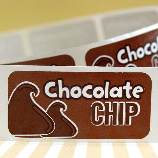 Chocolate Chip Bakery Labels